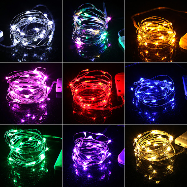 best selling HaoXin 2M Garland Decorative Light Copper Wire CR2032 Battery Operated Christmas Wedding Party Decoration LED String Fairy Lights