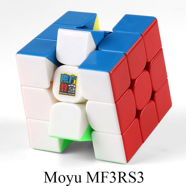 MoYu MF3RS3 3x3x3 Cube Magic Cube V3 Black Or Stickerless Mofangjiaoshi  3Layer Puzzle Cube Toys For Children Projector Mouse Laser Keyboard Reviews