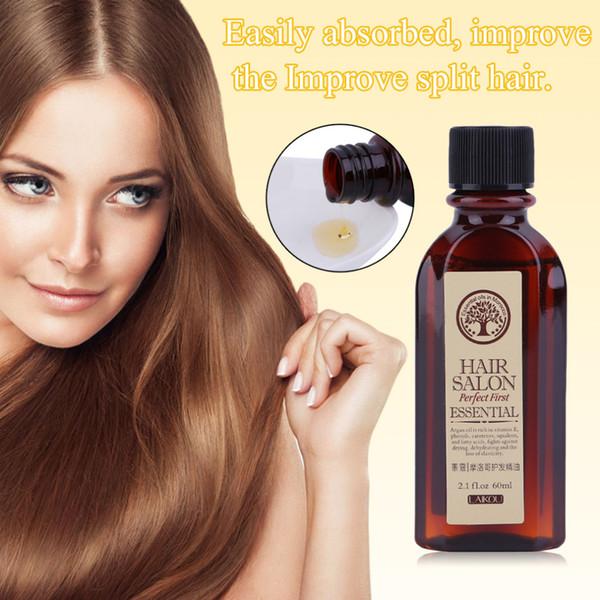 Marroquí puro argan 60 ML LAIKOU Cuidado multifuncional Marroquí puro Argan Esencial Tipo de cabello seco Tratamientos Aceite para el cabello hidratante