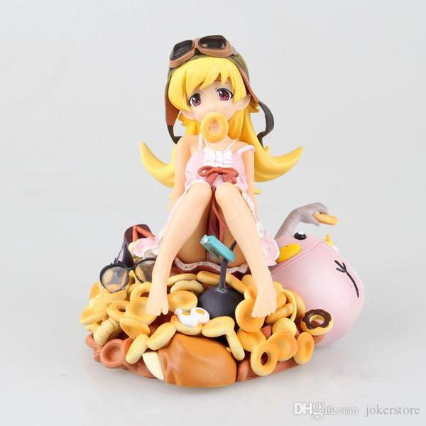 Monogatari Nisemonogatari Oshino Shinobu Sexy Anime Action Figure Kunst Mädchen Dicke Titten Tokio Japan Anime Spielzeug Sex Doll Adult Products