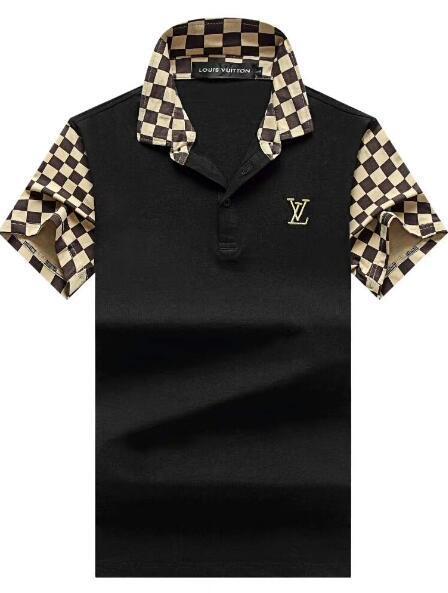 2017 New high quality men Fashion Brand Collar Autumn Casual Mens Shirt sleeve polo shirt cotton poloS shirt