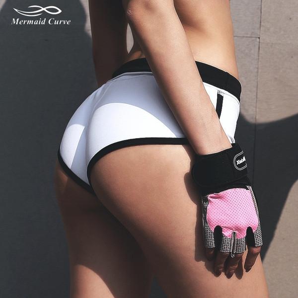 2017 Высококачественные Спортивные Шорты Тренажерный Зал Женщины Шорты Йоги С Низкой Талией Sexy Персик Бедра Quick Dry Фитнес Бег Эластичный Туго # 294498