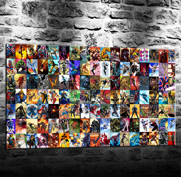Marvel Comics,1 Pieces Canvas Prints Wall Art Oil Painting Home Decor (Unframed/Framed)