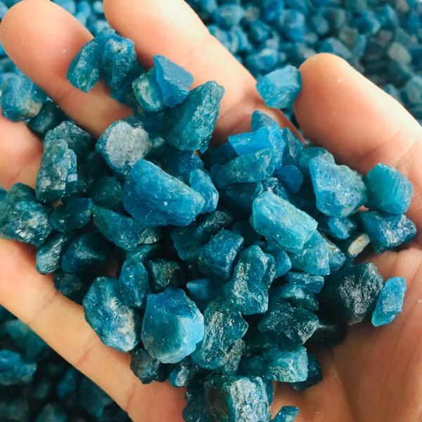 100g natürliche rohe rundum Steine und Mineralien reiki heilende Kristallrohedelsteinprobe für die Herstellung des Schmucks