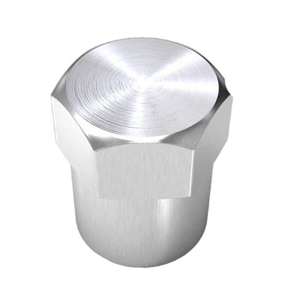 Guarnizione d'argento Copertura stelo pneumatico Copertura antipolvere Tappo valvola Valvola tappo pneumatico auto