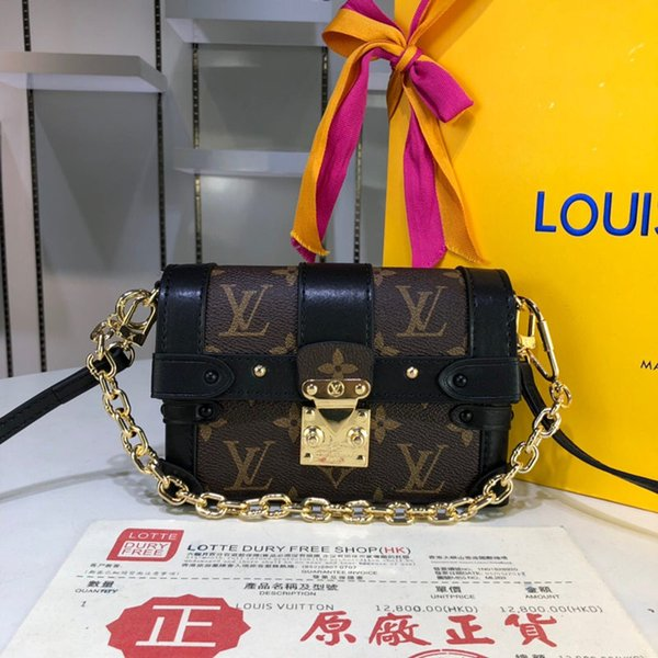 2018 Yüksek kaliten M44186 16.5..11..6 cm Fransa Sırt Çantası ÇANTA moda tasarımcısı çanta Kadın omuz çantaları çanta hakiki deri Ücretsiz Shiping