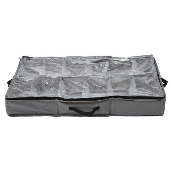 12 Cells Waterproof Oxford Cloth Shoes Storage Bag Travel Shoe Organizer