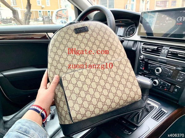 backpack Hight quality Womens Mini Backpack genuine printing women Campus style leather sac a dos Mini backpack M-K1