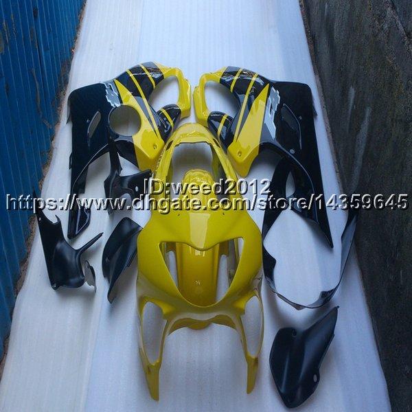 Custom + Винты Литье под давлением желтая капот мотоцикла для Honda CBR600F4i 2001 2002 2003 CBR600 F4i 01-03 ABS пластик двигателя Обтекатель