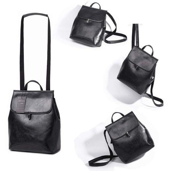 eb71d972d8c1 Women Backpack Purse Waterproof Nylon Anti-theft Rucksack Lightweight  School Shoulder Bag