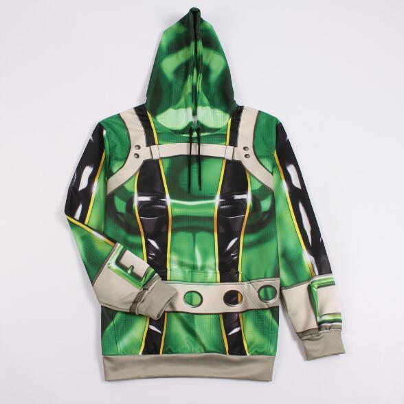 Mein Held Academia Hoodie 3D Print Hoodies Männer Frauen Sweatshirts Mantel Cosplay Kostüm