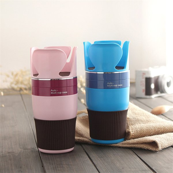 Car Ashtray With Lid Easy Clean Up Detachable Cup Silicone With Lid Shopping Home Offic Cup Holder For Drinking Juices Hot Coffee Free DHL