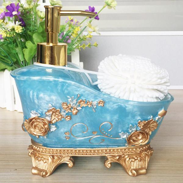 Hotel Liquid Soap Dispensers High Quality European Home Shampoo Bottle Hand Sanitizer 600ml Container Bathroom Accessories