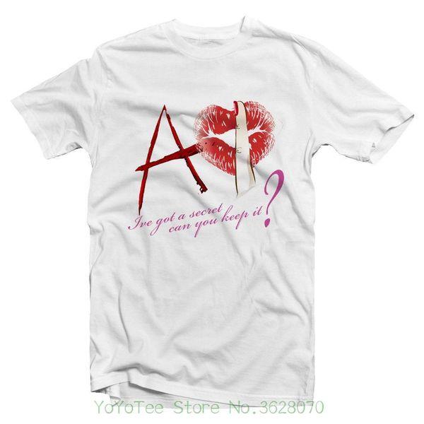 Man Print T-shirt Hipster Ive Got A Secret Can You Keep It ? Tshirt - Pretty Little Liars Tshirt - Bite Me