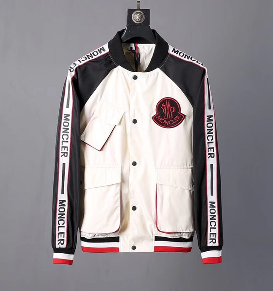 best selling Hot sale 2019 fashion high quality jacket men's sportswear latest floral letter pattern zipper men Medusa casual jacket men