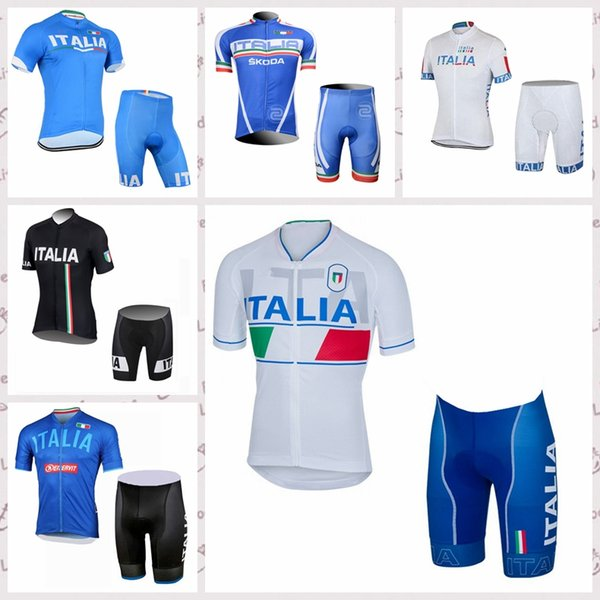 ITALY team Summer cycling shorts sets mens cycling Short Sleeves jersey Outdoor Mountain bike quick-dry clothes Q82005