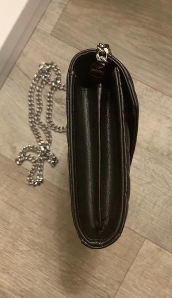 Rossa attraente mini sacchetti del messager di design popolare borse borse donna lembo Motivo a onde crossbody genuina vestito materiale in pelle per il viaggio