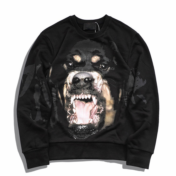 top popular Luxury Hoodie Hip Hop Fashion Pullover Designer Hoodie Men Women Animal Printed Loose Fit Designer Sweatshirt Size S-XL 2019