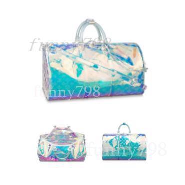 2019 En kaliteli erkek asla tasarımcı seyahat bagaj çantası erkek kılıf keepall PVC çanta spor çantası tam marka moda lüks çanta 50156523246c #