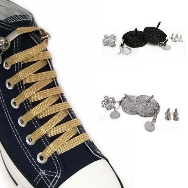 FLAT GLITTER COLORFUL SHOELACES NEW SHINY LACES FOR ALL SHOES BUY 2 GET 1 FREE