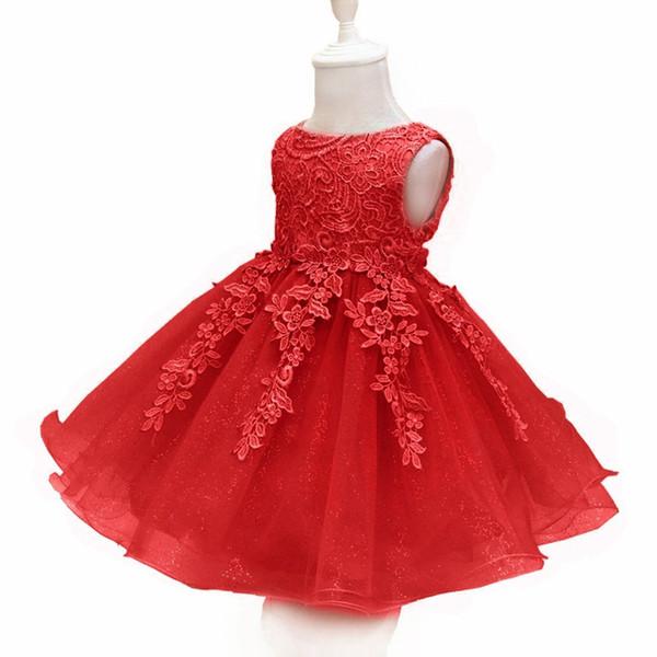 Enfants Robe Princesse Jupe Bébé Fille Designer Vêtements Robe De Soirée Dentelle Bubble Bowknot Robes D'anniversaire 43