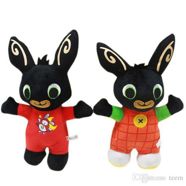 25СМ в Bing Банни плюшевые игрушки куклы чучела животных Бинг друзья игрушка Кролик кукла Кролик мягкая животных Бинга для детей Дети рождественские подарки