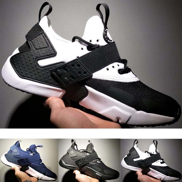 2019 New Huarache 6 X Acronym City MID Leather High Top Huaraches Mens Trainers Running Shoes Men Huraches Sneakers Hurache Size 36-45