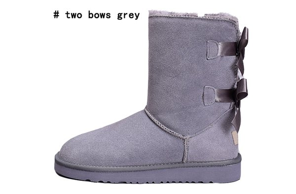 two bows grey
