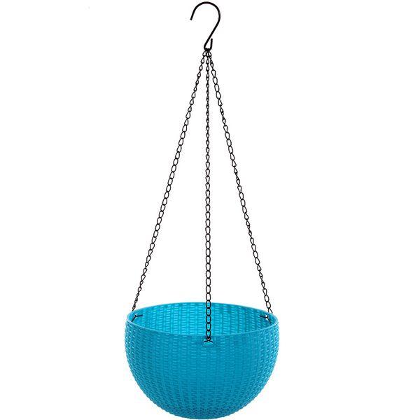 Hanging Basket Flowerpot High Quality Not Easily Deformed pot Plastic Garden Resin Nostalgia Hot Sell 12 8wx3 R