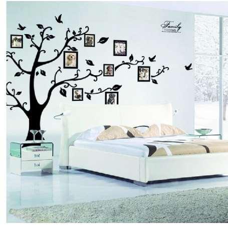 DIY 50 * 70 cm photo frame memória árvore de família clássica decalque 2141S decorativo adesivo de parede removível pvc adesivo de parede