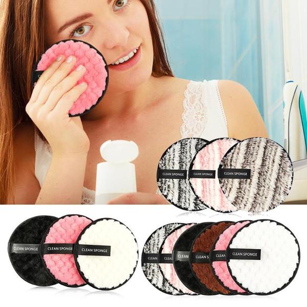 Kozmetik Puf Set Mikrofiber Bez Ped Sökücü Kullanımlık Temizlik Yüz Bakımı Kozmetik Güzellik Aracı Kiti Sıcak Makyaj Aksesuarl ...