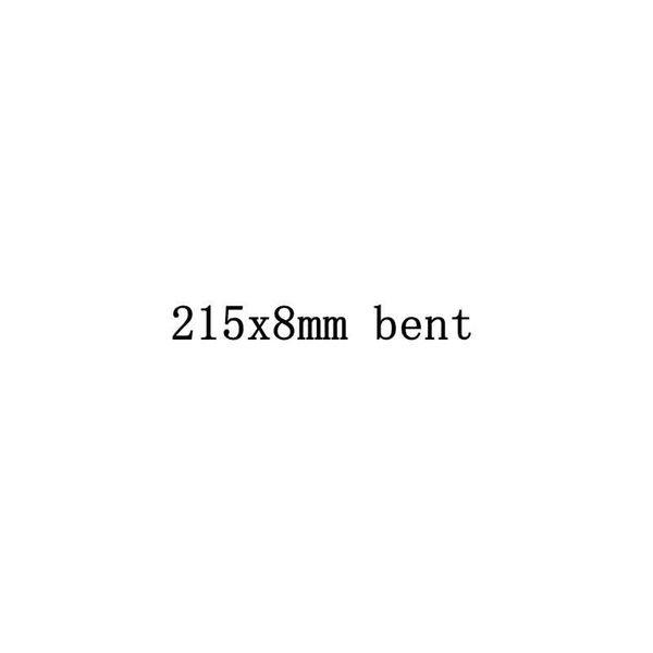 215x8mm doblado