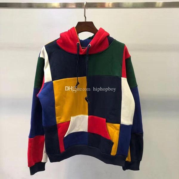 Box Logo Luxury Mens Designer Sweatshirts Fashion High Quality Mens T Shirts Men Women Hip Hop Long Sleeves Tees