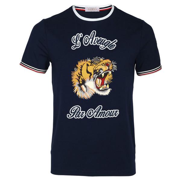 T-shirt girocollo da uomo T-shirt girocollo personalizzata da uomo