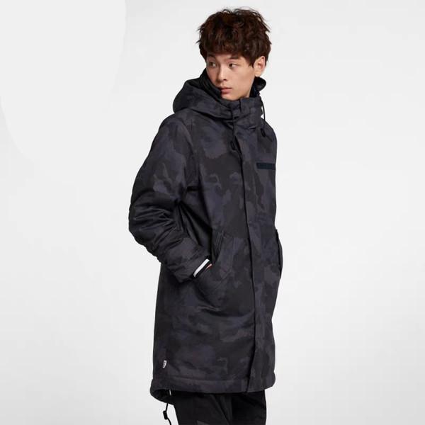 Jacket Men's Wear Fall and Winter 2018 New Sportswear, Hat Jacket Top, Leisure Windbreak Jacket