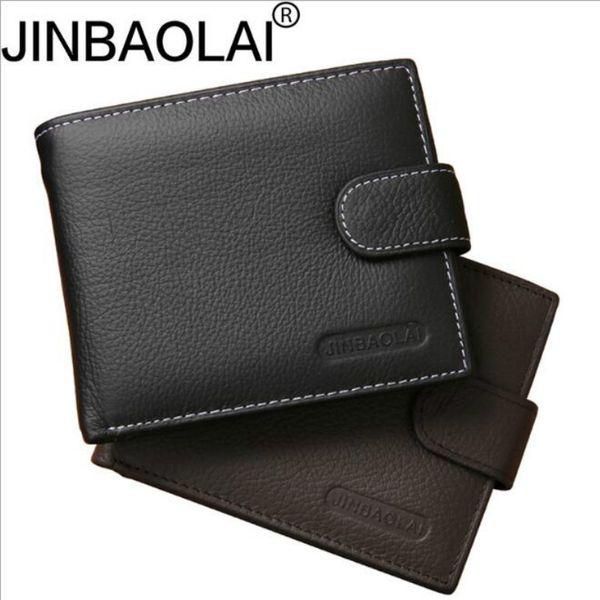 Genuine Leather Wallet Men Clip Cowhide Wallet Men 2016 Brand Coin Small Clutches Men's Purse Coin Pouch Short #529162