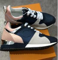 sportsshoes6 / Marke Mens Designer Sneakers Unisex Trainer Schuhe Laufschuhe für Männer Damen Läufer Wohnungen Echtes Leder Marke Racer Luxus Schuhe W01