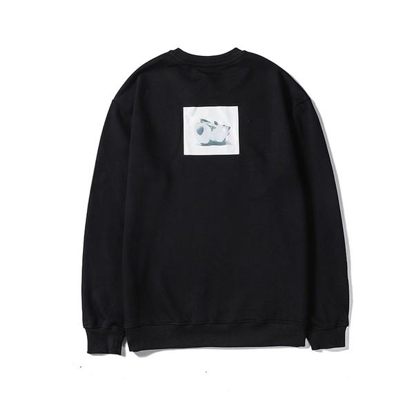 2019 Hommes Woemens Sweat-shirt décontracté automne Outwearing Chemisier à manches longues Belle Cerf Imprimer Sweat haute qualité LSY98277