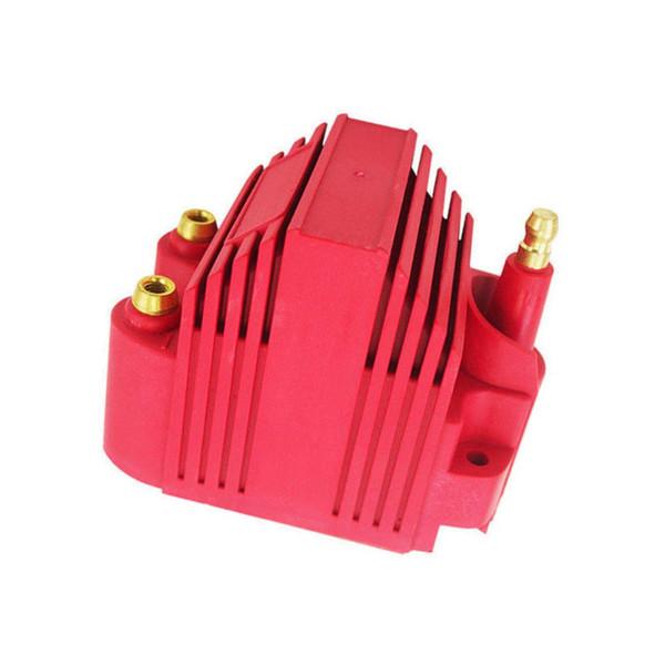 Geändert Auto Motor Red Blaster Zündung Blaster SS Spule Hochspannung -40.000 V E-Core Square Male / HEI Epoxy Solid Best