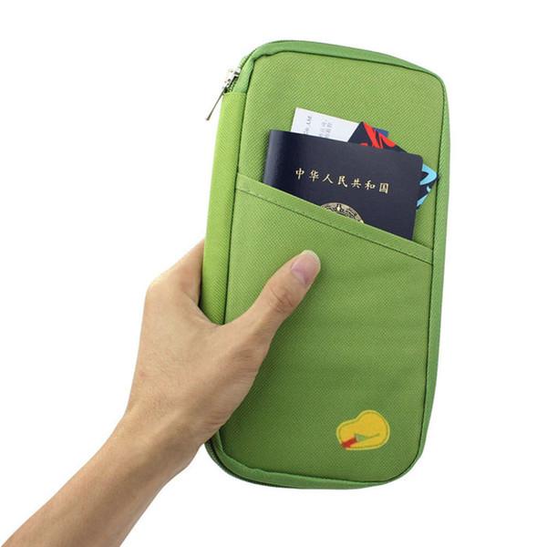 Новый Обложка для Паспорта Путешествия Кошелек Travelus Многофункциональный Пакет Кредитной Карты Id Держатель Хранения Организатор Сцепления Денежный Мешок
