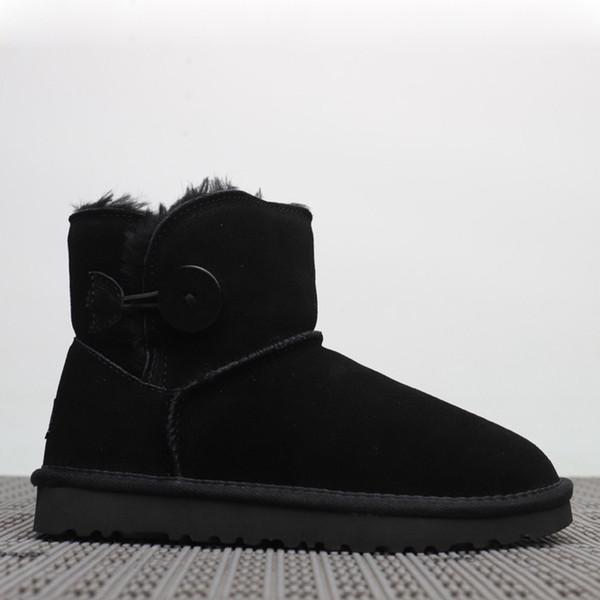 6b60f9906 Лучшие продажи европейского стиля матовые кожаные женские ботинки снега  100% натуральная кожа плюс бархатные кожаные ботинки зима теплая уличная  обувь