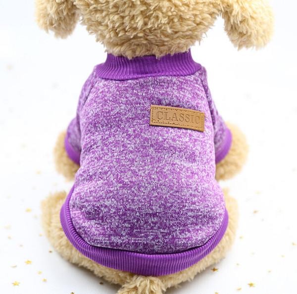 Pet malzemeleri kedi giysileri köpek giysileri köpek giyim Yeni Pet köpek moda kazak kazak pet giysi