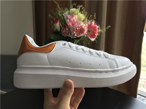 Platform Tasarımcı Konfor Güzel Kız Bayan Sneakers Rahat Deri Ayakkabı Erkekler Bayan Sneakers Son Derece Dayanıklı Istikrar 7hjh