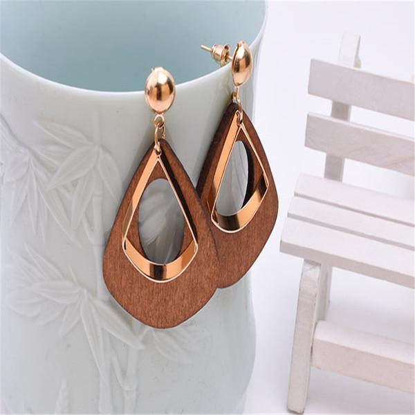 orecchini d'argento dell'orecchino di dichiarazione di modo delle donne dell'annata 2019 per la festa nuziale Orecchini di goccia all'ingrosso del regalo di Natale Nuova moda