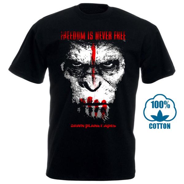 Planet della moda di Harajuku maglietta scimmie Homme divertente Tee Shirt Homme Humor T-shirt di marca T-shirt Abbigliamento Uomo 2019