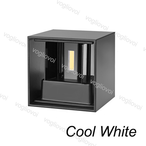 7W Cool White(Black Lampshape)