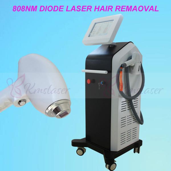 Nuovo sistema laser a diodi 808nm non congelante Congelamento indolore Laser a diodi Laser Depilazione permanente Sistema laser a diodi