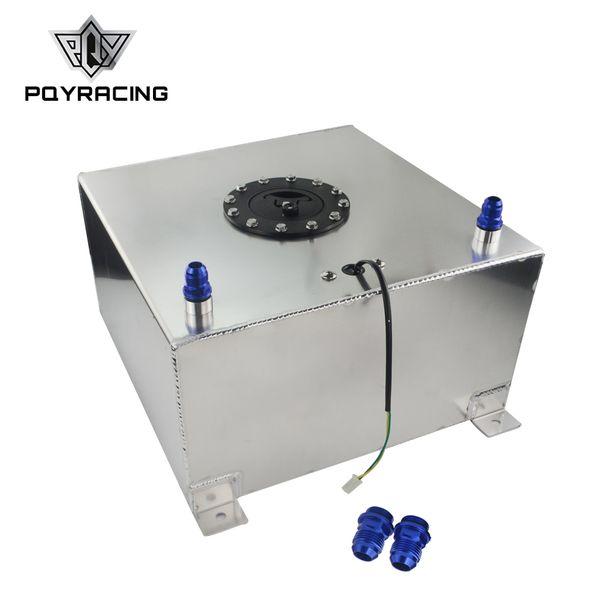 PQY RACING 40L Aluminium Fuel Surge Tank With Cap Fuel Cell