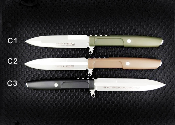 Соотношение экстремумов прямой нож D2 Лезвие G10 Ручка 60HRC Фиксированный Лезвие охота кемпинг нож выживания Рождественский подарок нож