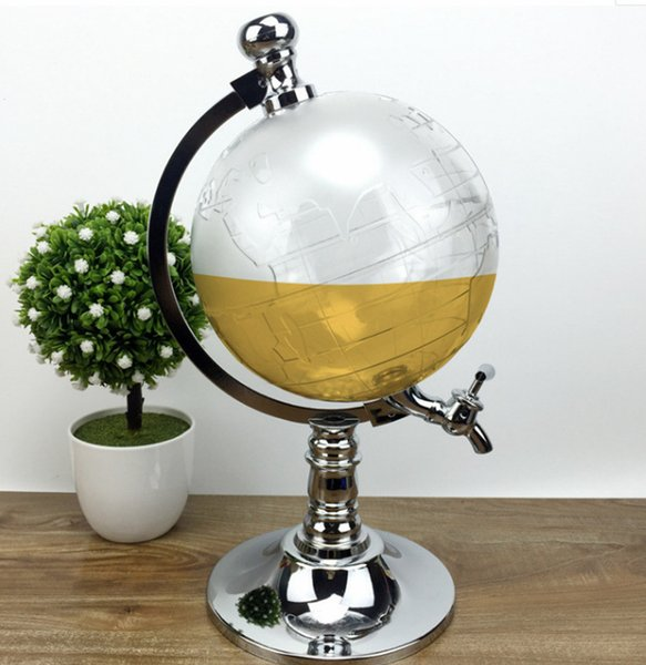 Globe Alcohol Liquor Dispenser Novelty Fill Up Gas Pump Bar Drinking Items
